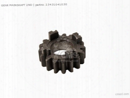 Gear Mainshaft 2nd