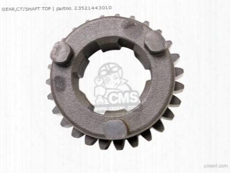 Gear,ct/shaft Top