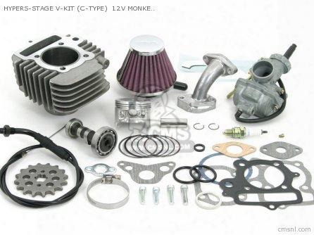 Hypers-stage V-kit (c-type) 12v Monkey .gorilla (52mm/88cc -