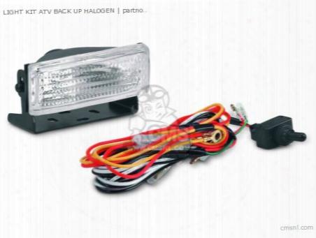 Light Kit Atv Back Up Halogen