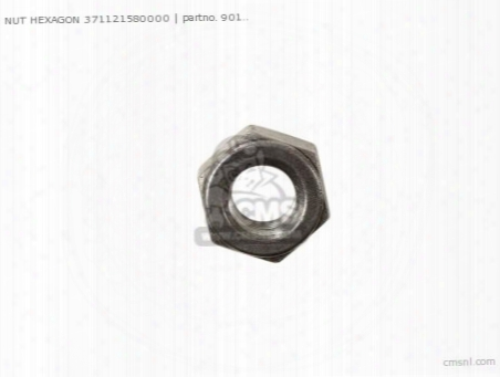 Nut Hexagon 371121580000