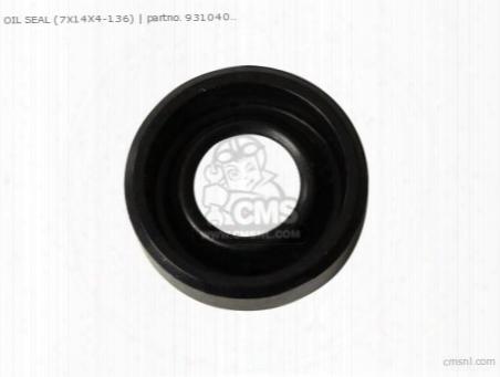 Oil Seal (7x14x4-136)
