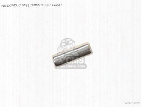Pin,dowel (168)