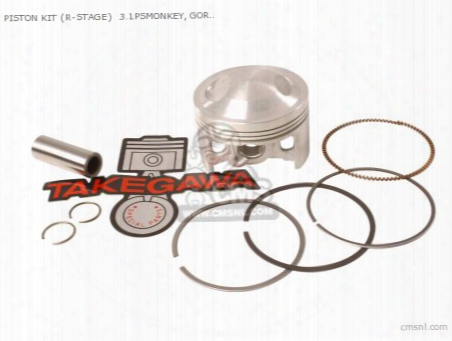 Piston Kit (r-stage) 3.1psmonkey, Gorilla 54mm/95cc