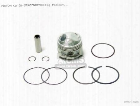 Piston Kit (r-stage&reguler) Monkey, Gorilla 51mm/102cc