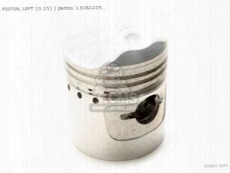 Piston, Left (0.25)