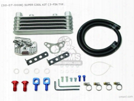(00-07-0008) Super Cool Kit (3-fin Type) Cd50 (stock Head &r-st