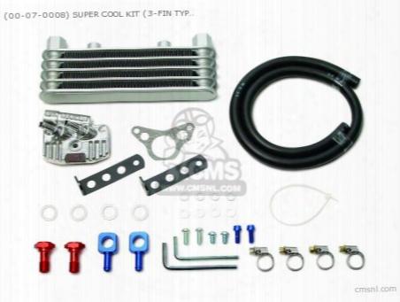 (00-07-0008) Super Cool Kit (3-fin Type) Cd50 (stock Head &r-st