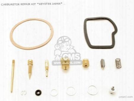 (01600-key-0115) Carburetor Repair Kit *keyster Japan*