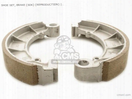 (06430-390-405p) Shoe Set, Brake (sok) (non O.e. Alternative)