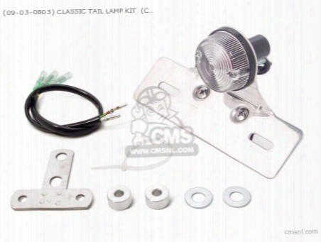 (09-03-0803) Classic Tail Lamp Kit (clear ) Ape50/100 (reflect