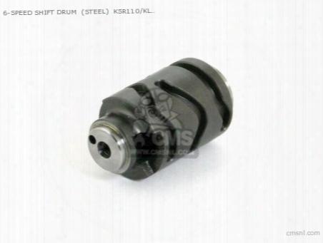 6-speed Shift Drum (steel) Ksr110/klx110