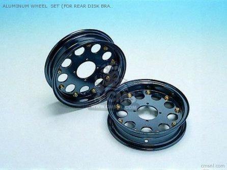 Aluminum Wheel Set (for Rear Disk Brake ) Monkey ,gorilla 10