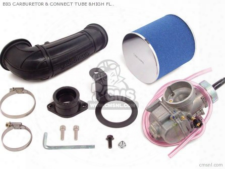 Big Carburetor & Connect Tube &high Flow Filter Ape100 (superhea