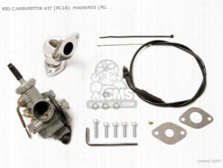 Big Carburetor Kit (pc18) Magna50 (for E/s-stage Only)