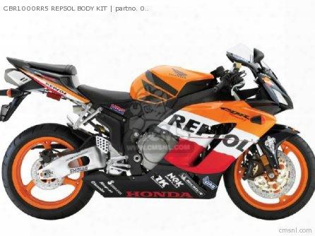 Cbr1000rr5 Repsol Body Kit
