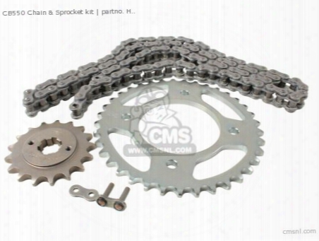 Chain And Sprocket Kit (non O.e. Japanese Alternative)