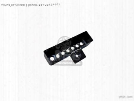 Cover,resistor