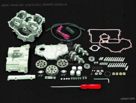 Dohc Head Kit 106/115cc Monkey,gorilla Fno.z50j-1600008-