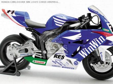 Honda Cbr1000rr Sbk 2005 Chris Vermeulen 1/10