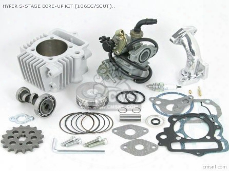 Hyper S-stage Bore-up Kit (106cc/scut) Little Cub /super Cub (c