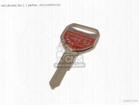 Key,blank No.2