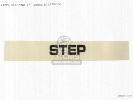 Label, Step *nh-1*