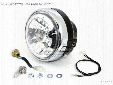 Multi-reflector Head Light Kit (type-4) Multipurpose (for 6v On