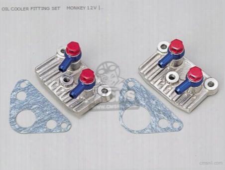 Oil Cooler Fitting Set Monkey 12v
