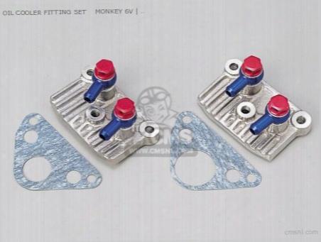 Oil Cooler Fitting Set