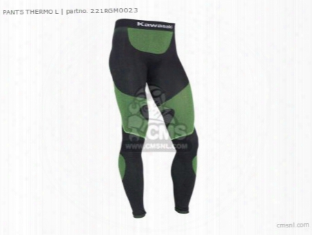 Pants Thermo L
