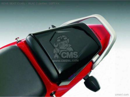 Rear Seat Cowl - Blac