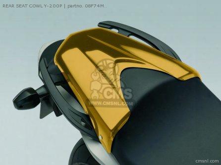 Rear Seat Cowl Y-200p