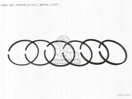 Ring Set, Piston (0.50)