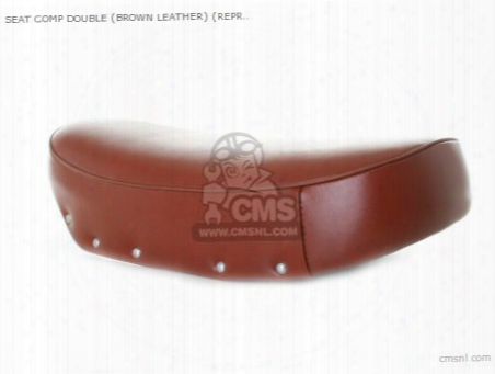 Seat Comp Double (brown Leather) (non O.e. Alternative)