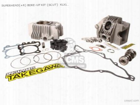 Superhead(+r) Bore-up Kit (scut) Klx110 (f67mm/178cc) (with S-1
