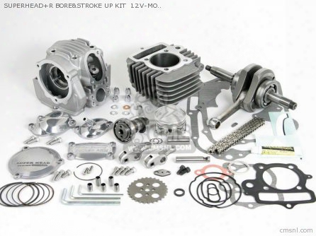 Superhead+r Bore&stroke Up Kit 12v-mokey (s-15/106cc/v-type)