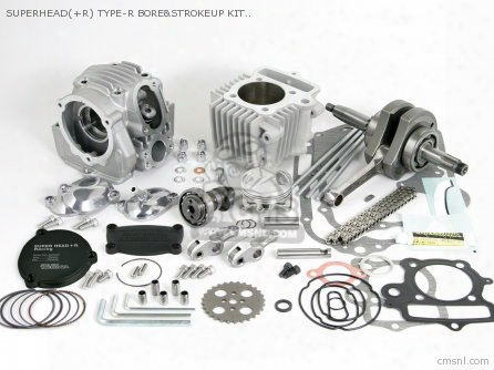Superhead(+r) Type-r Bore&strokeup Kit With Auto Decompression 1