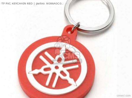 Tf Pvc Keychain Red