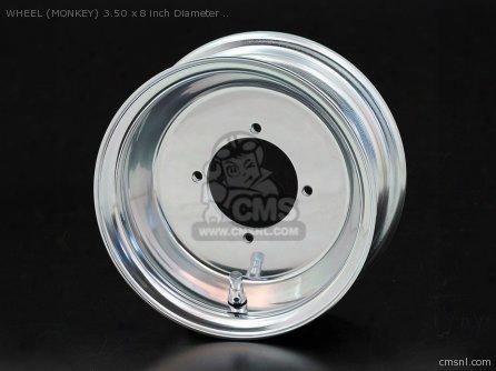 Wheel (monkey) 3.50 X 8 Inch Diameter
