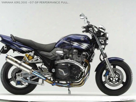 Yamaha Xjr1300 -07 Gp Performance Full-titan Muffler
