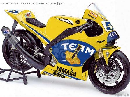Yamaha Yzr M1 Colin Edwards 1/10
