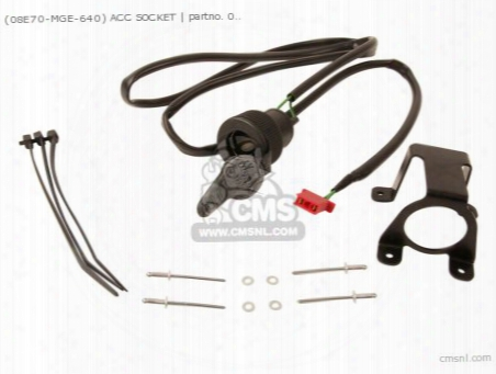 (08v70mge801) Acc Socket