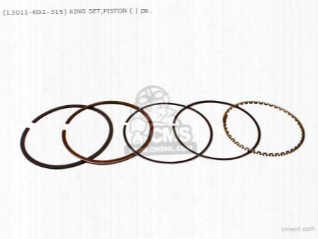 (13011kg2305) Ring Set,piston (
