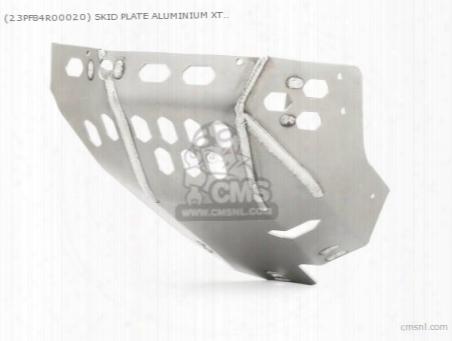 (23pf84r00020) Skid Plate Aluminium Xt1200z