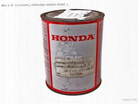 Bg13-m (1000ml) Genuine Honda Paint