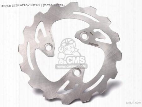 Brake Disk Aerox Nitro