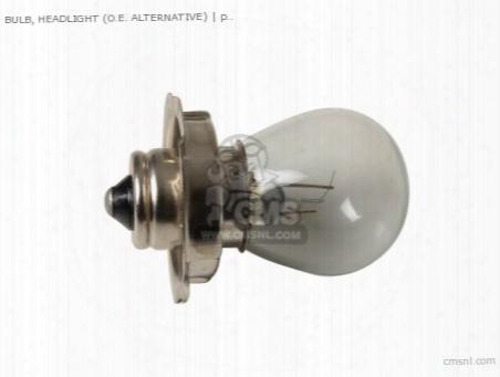 Bulb, Headlight (o.e. Alternative)