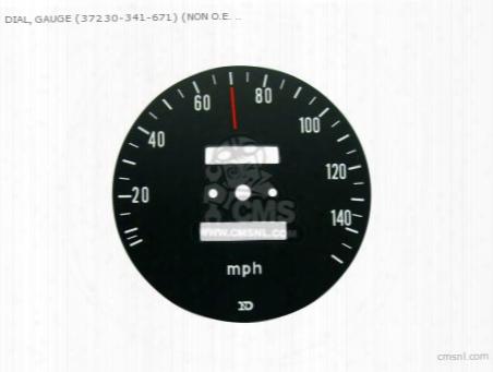 Dial, Gauge (37230-341-671) (non O.e. Alternative)