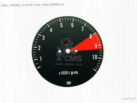 Dial, Gauge (37240-341-009) (non O.e. Alternative)